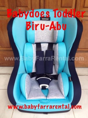 BABYDOES BABYDOES Toddler Car Seat (Biru-Abu)