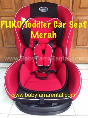 PLIKO Toddler Car Seat (Merah)