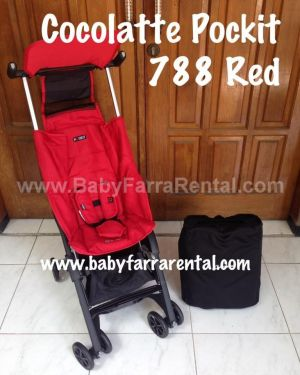 COCOLATTE Pockit 788 Red