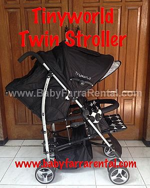 Tinyworld Twin Stroller