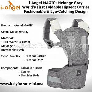 I-Angel Magic 7 Melange Grey