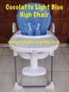 COCOLATTE  Light Blue High Chair