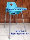 INFORMA HIGH CHAIR BLUE #3